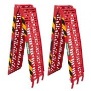 Pair of loading ramps ATV001 red