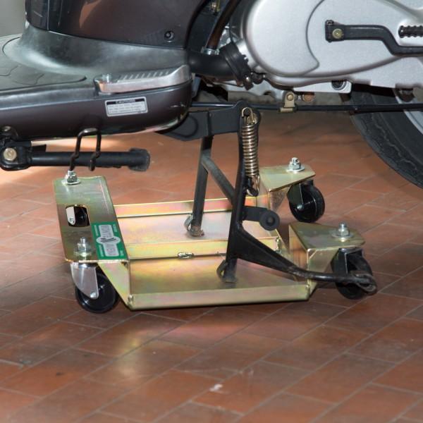 Accosta moto mavam03 for Carrello sposta auto