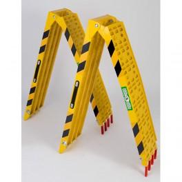 Coppia di Rampe mod ATV001(4) alluminio gialle