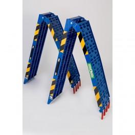Coppia di Rampe mod ATV001(4) alluminio blu