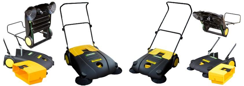 Spazzatrici MS70 e MS80