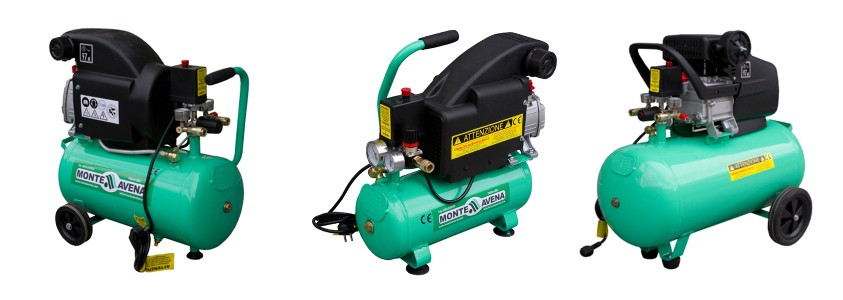 Air compressors 8, 25 and 50 litres